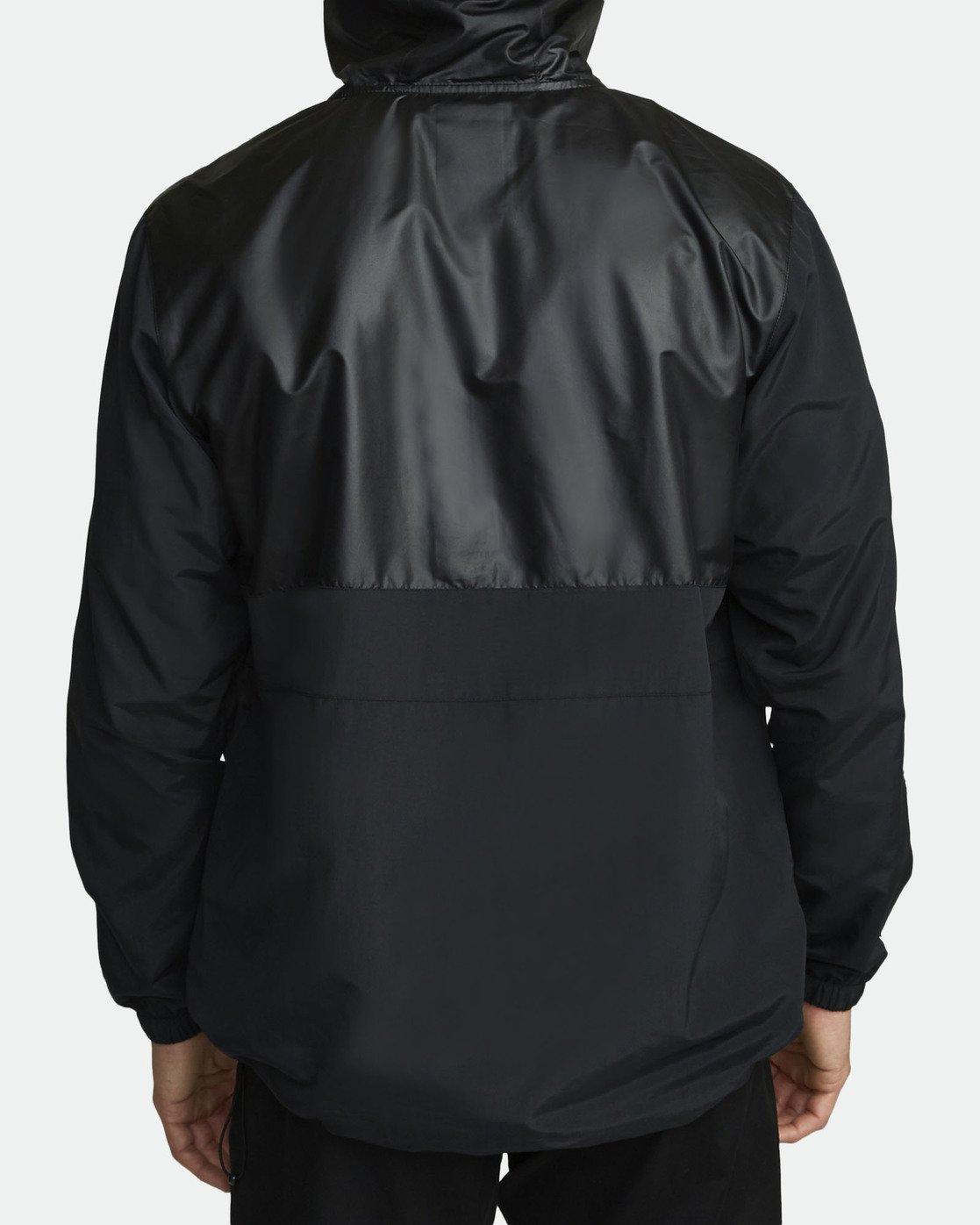 5 Utility Anorak Jacket Black R307435 RVCA