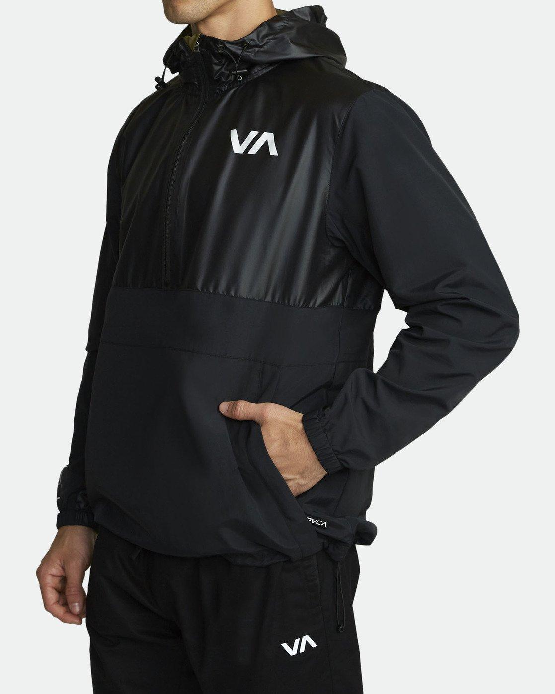 3 Utility Anorak Jacket Black R307435 RVCA
