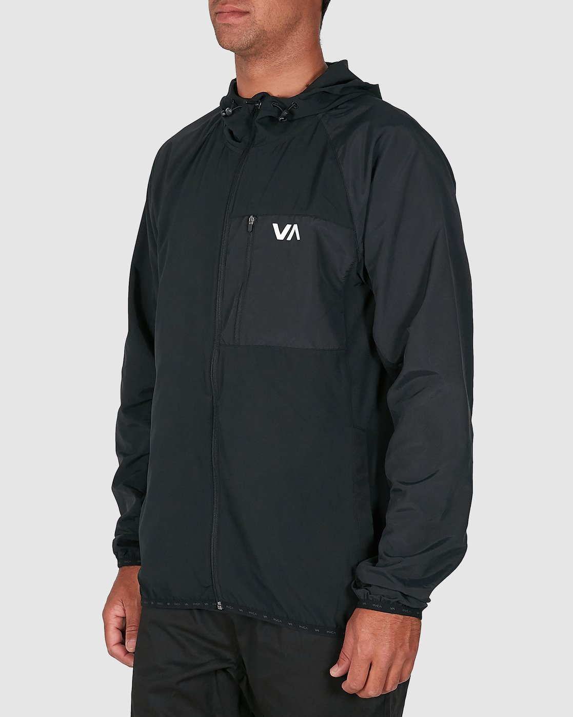2 YOGGER JACKET Black R307437 RVCA