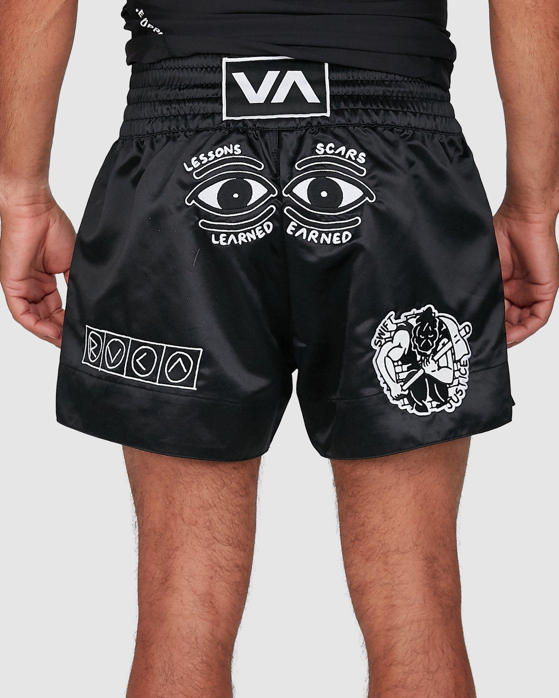 5 Ortiz Muay Thai Shorts Black R308311 RVCA