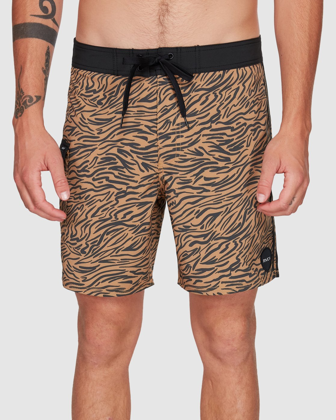 4 Restless Boardshorts Yellow R308401 RVCA