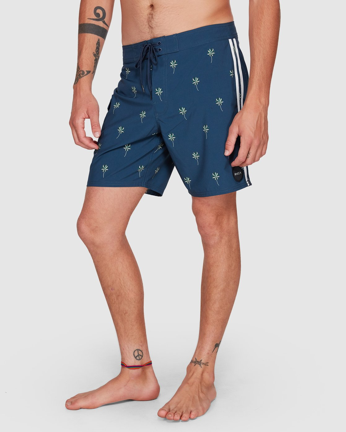 12 Restless Boardshorts Blue R308401 RVCA