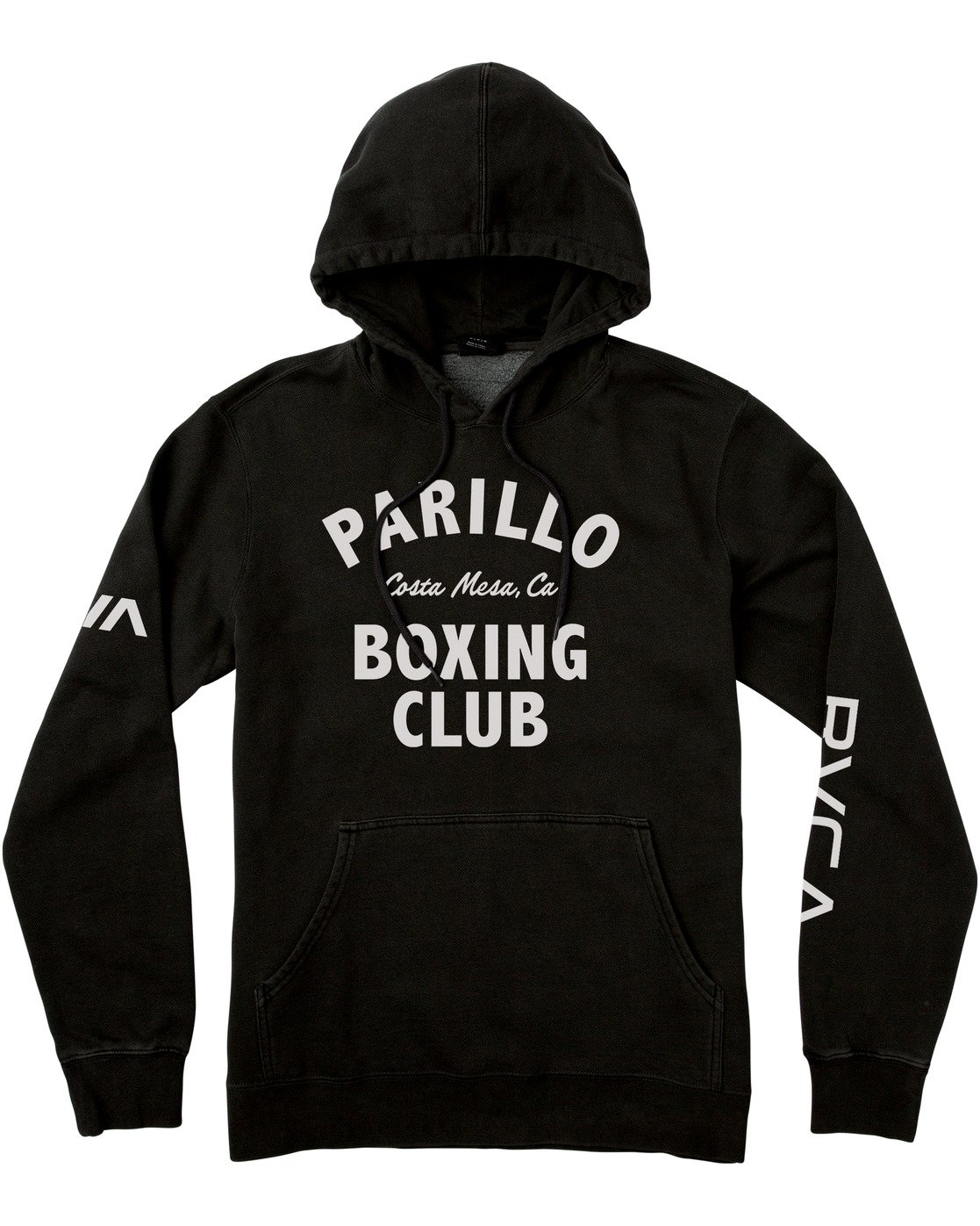 5 PARILLO BOXING CLUB HOODIE Black R317165 RVCA