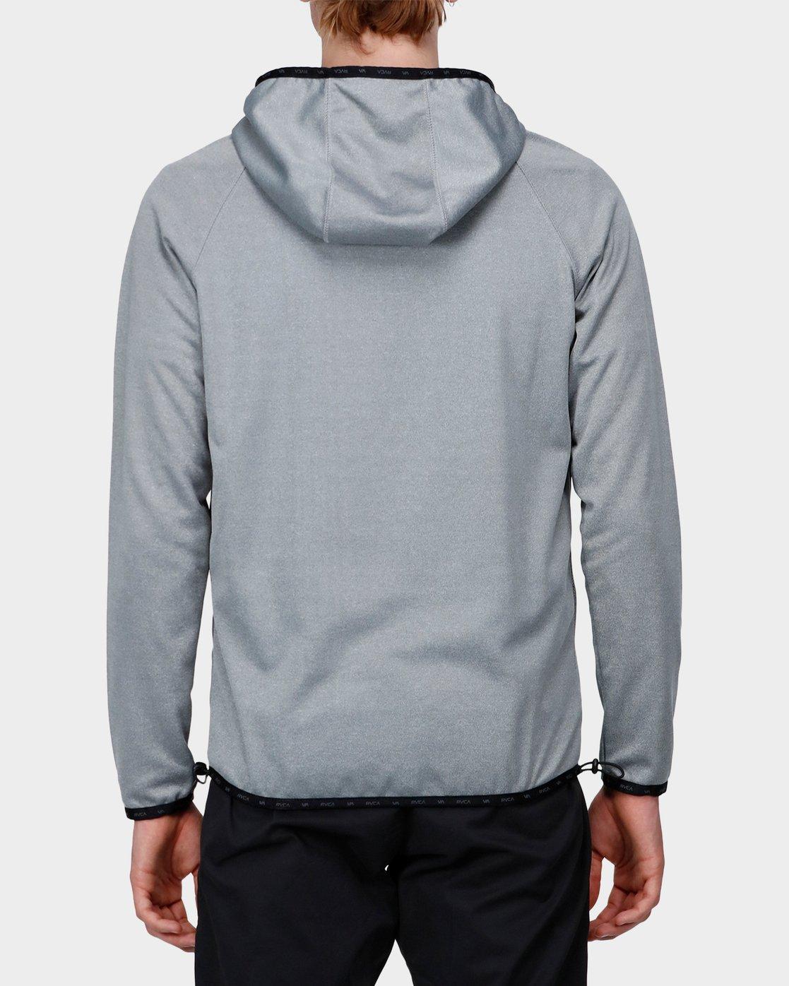 2 Shermin Hood Grey R371153 RVCA