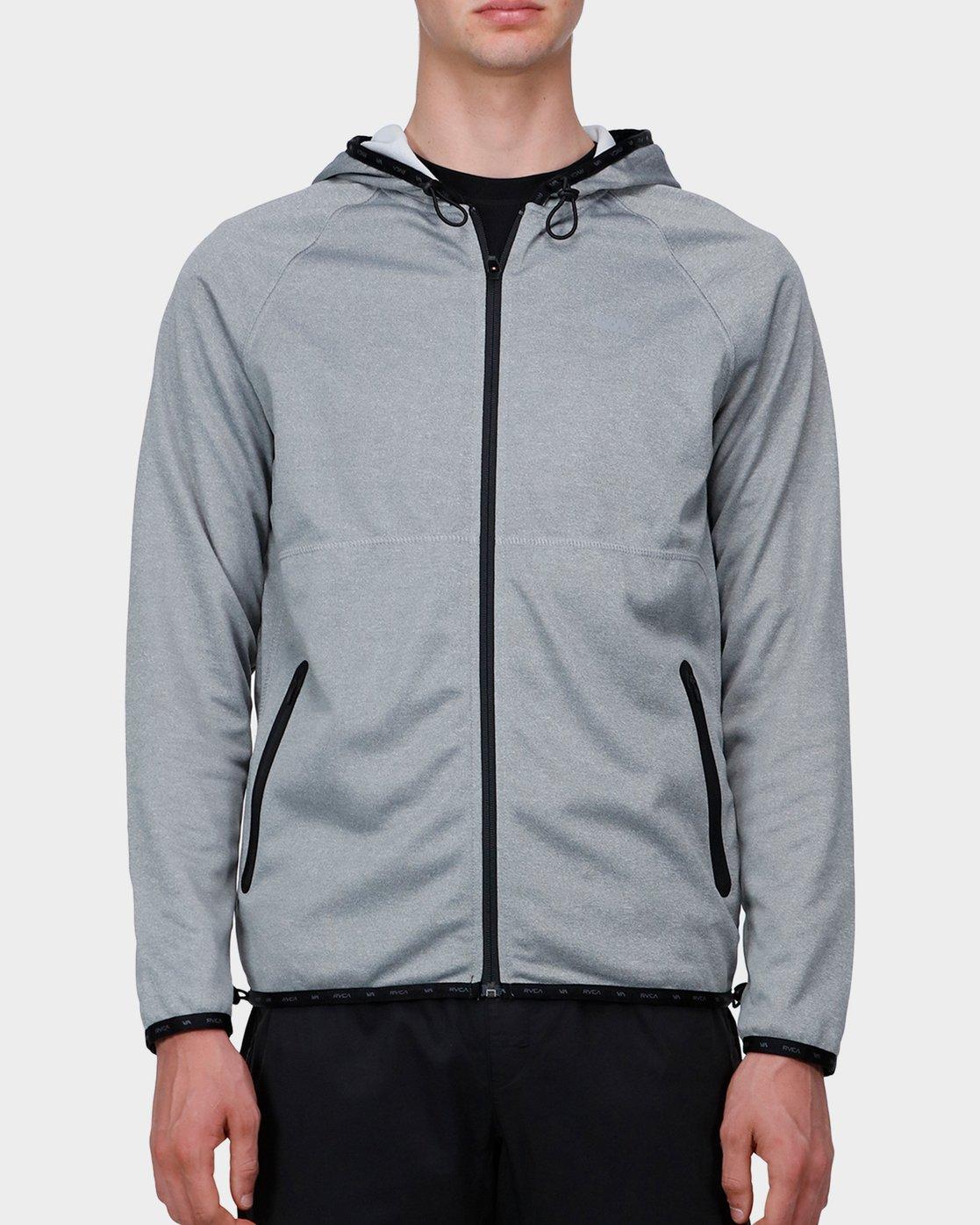 0 Shermin Hood Grey R371153 RVCA