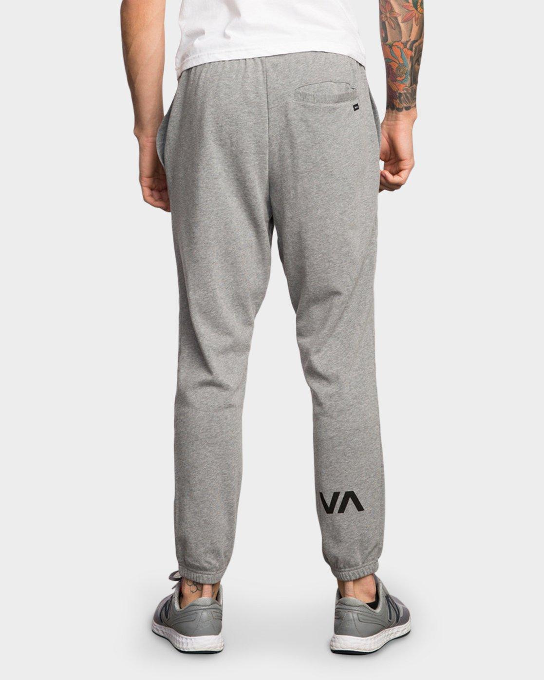 1 Big RVCA Sweat Pant Grey R371155 RVCA