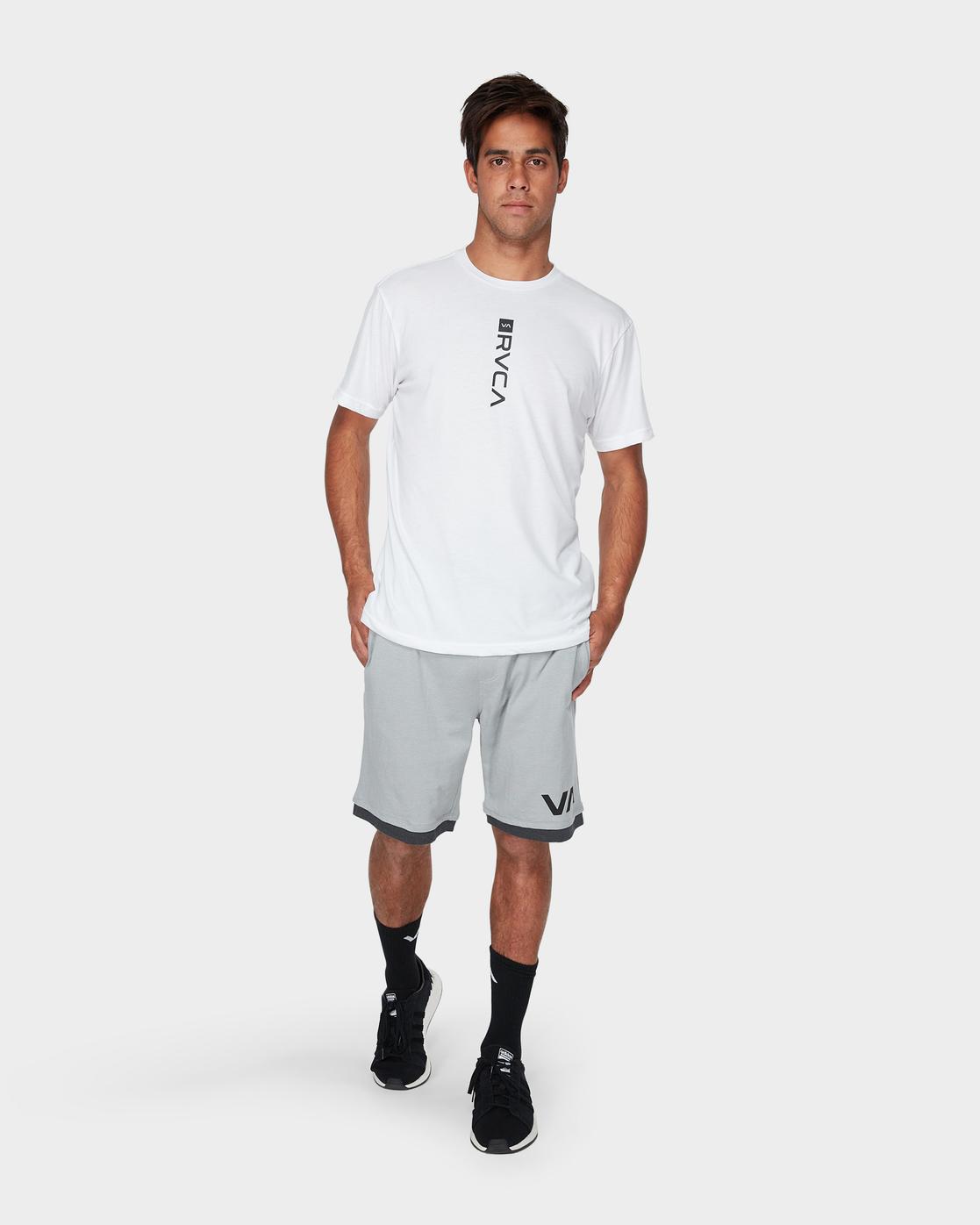 6 VA Sport Shorts II 20 inch Grey R371313 RVCA