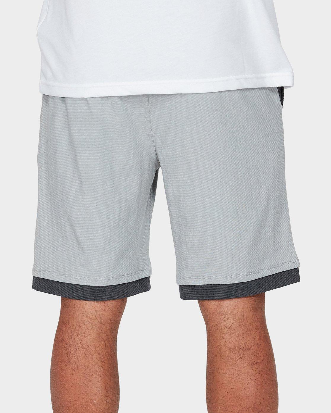 5 VA Sport Shorts II 20 inch Grey R371313 RVCA