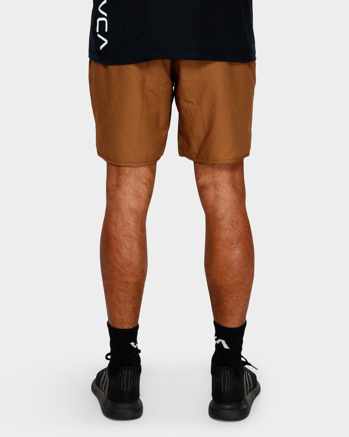 8 Yogger IIl Shorts Orange R371314 RVCA