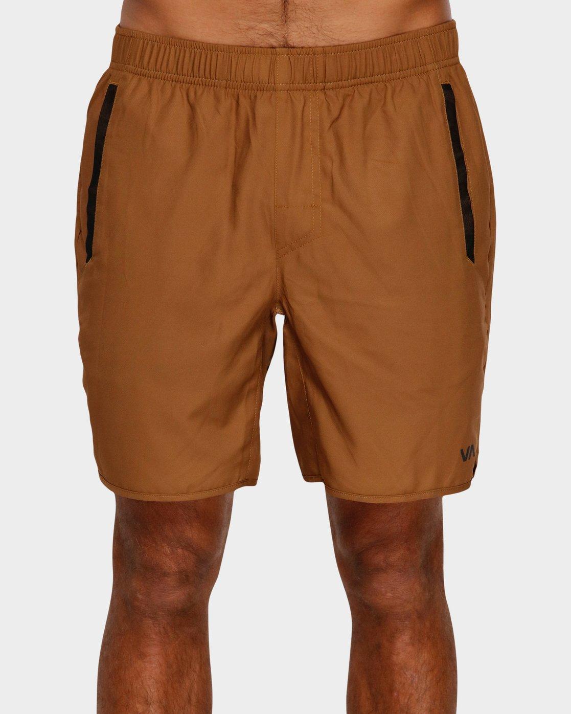1 Yogger IIl Shorts Orange R371314 RVCA