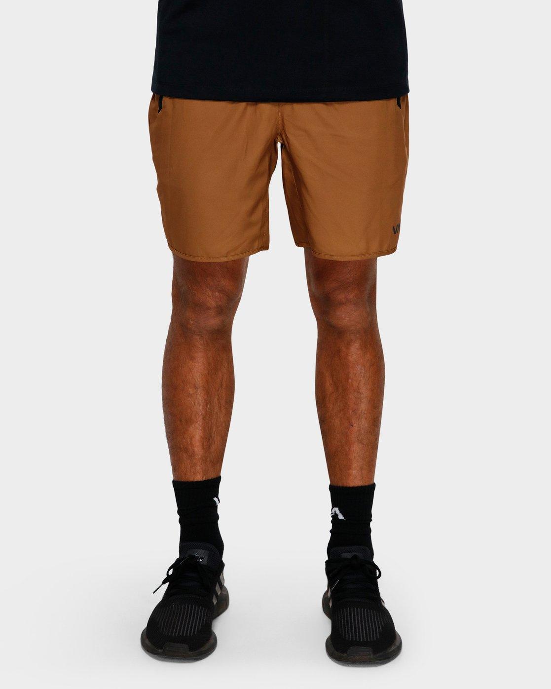 7 Yogger IIl Shorts Orange R371314 RVCA