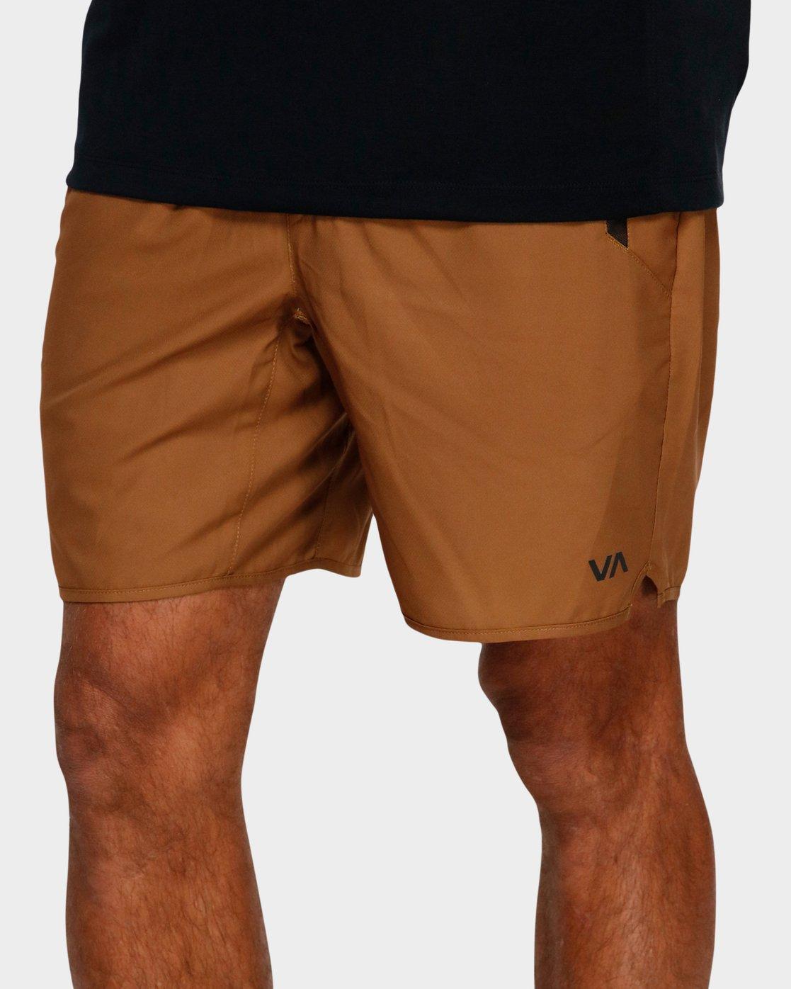 3 Yogger IIl Shorts Orange R371314 RVCA