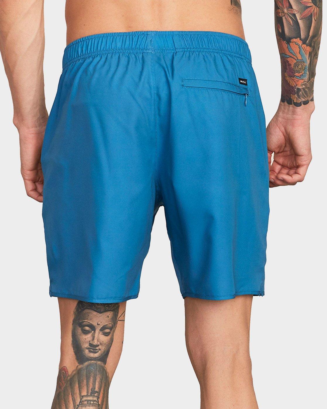 2 Yogger III Shorts Blue R371314 RVCA