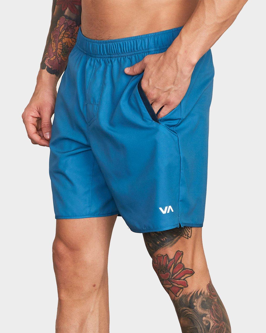 0 Yogger III Shorts Blue R371314 RVCA
