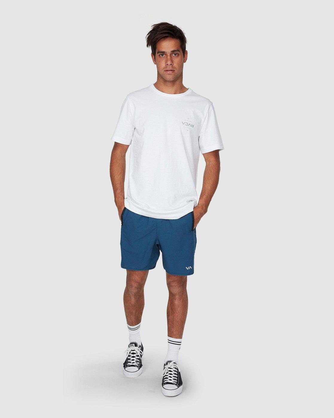 3 Yogger III Shorts Blue R371314 RVCA