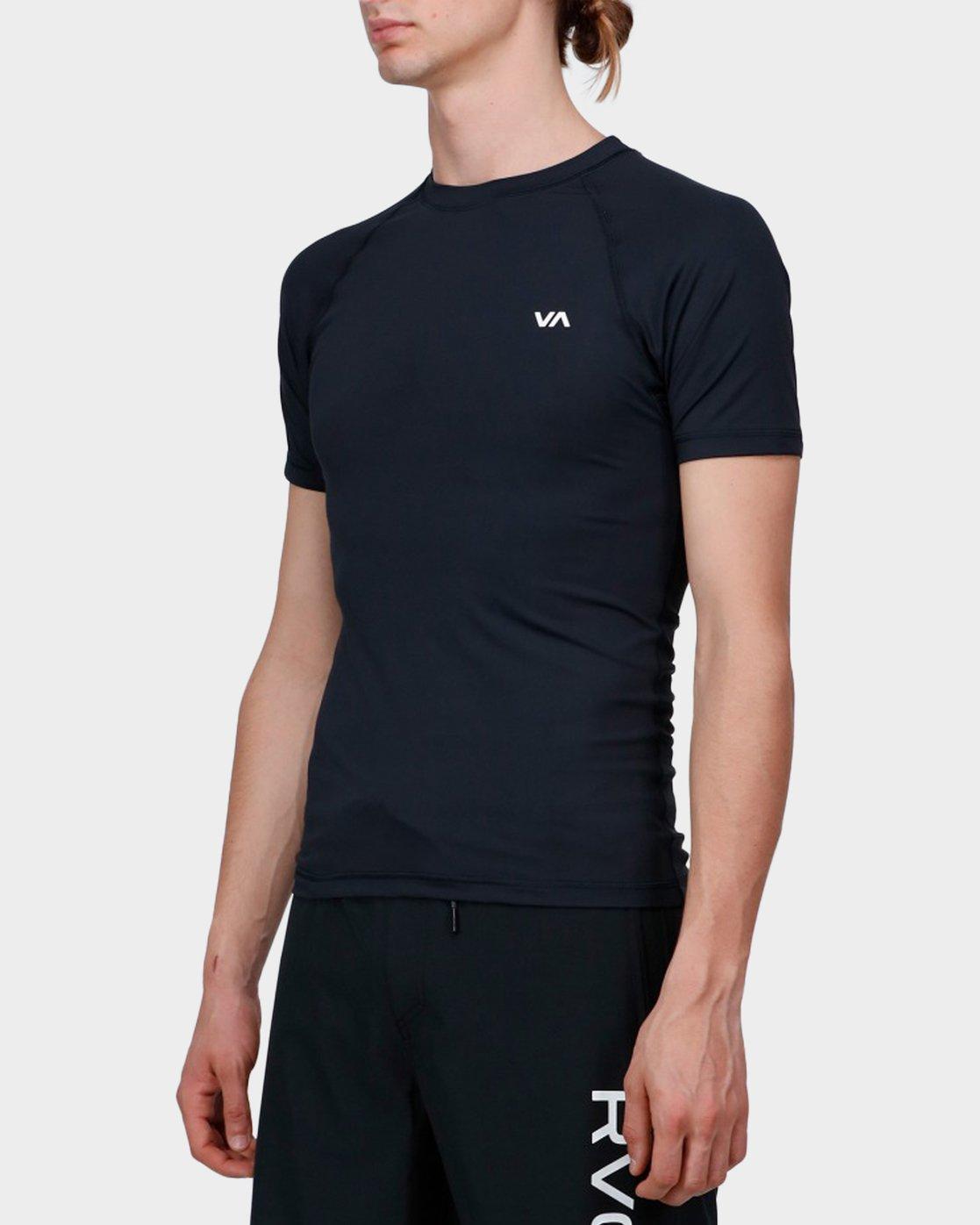 1 Va Sport Compression T-Shirt Black R371362 RVCA