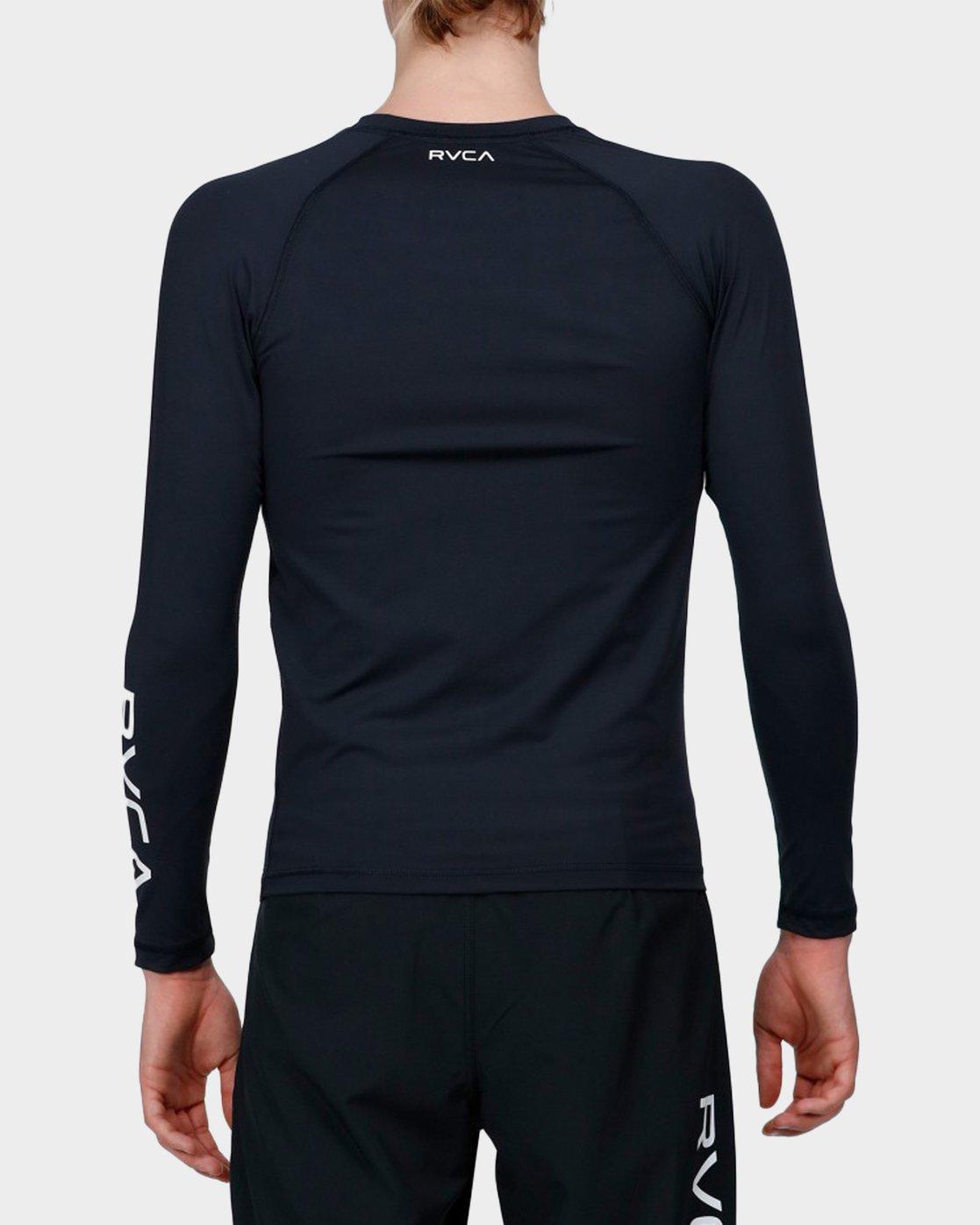 2 Va Sport Compression Long Sleeve Top Black R371364 RVCA