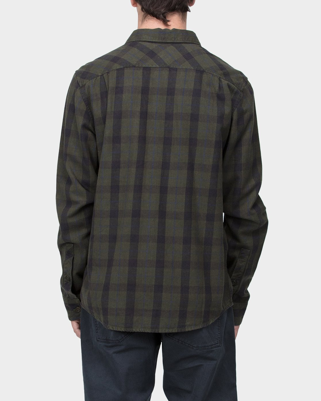 2 Treets Long Sleeve Shirt Camo R372190 RVCA