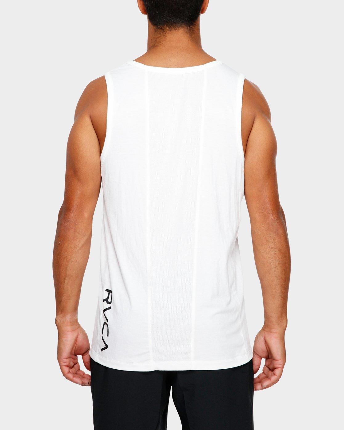 3 Va Vent Sleeveleshorts S Sleeve T-Shirt White R381001 RVCA