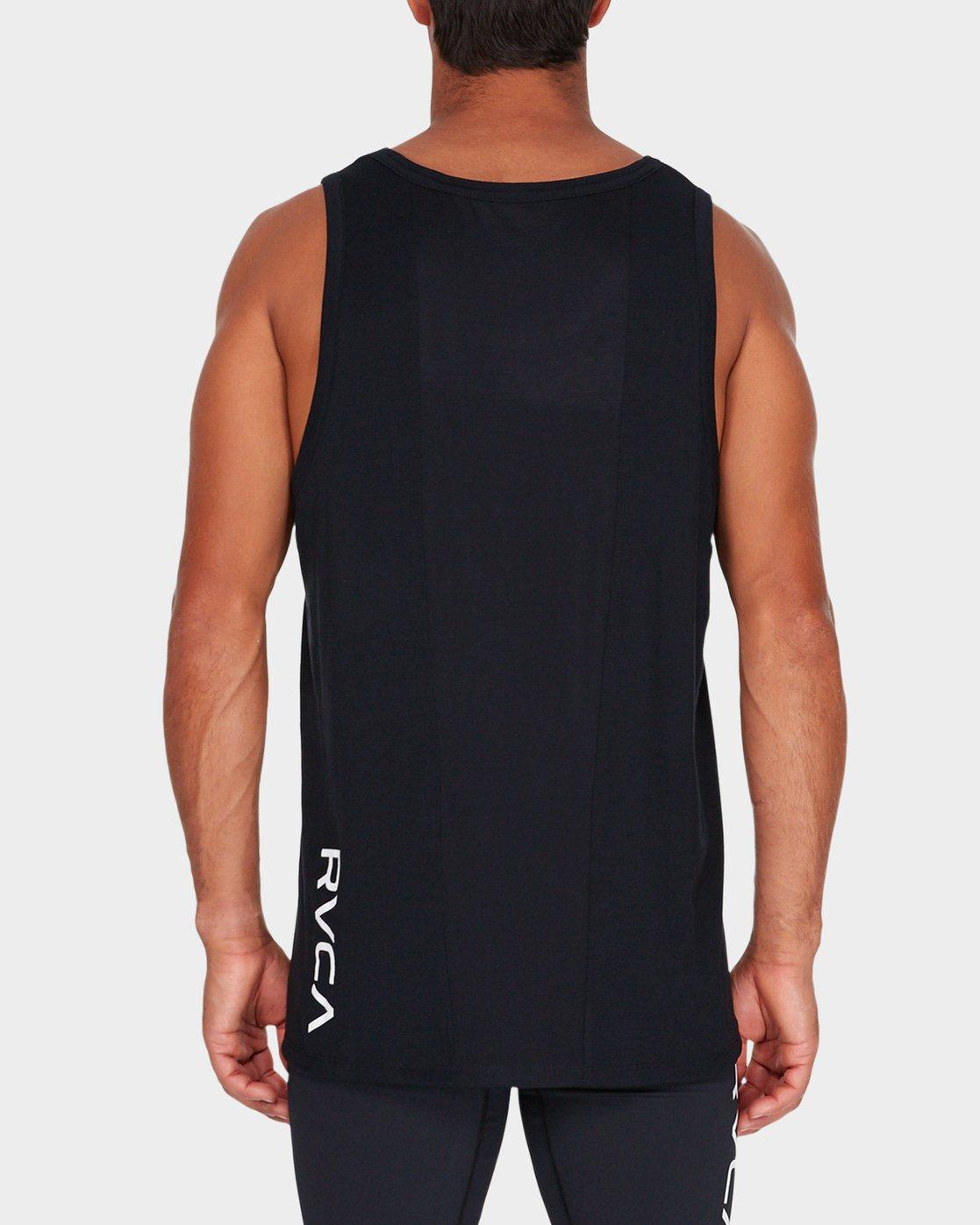 2 Va Vent Sleeveleshorts S Sleeve T-Shirt Black R381001 RVCA