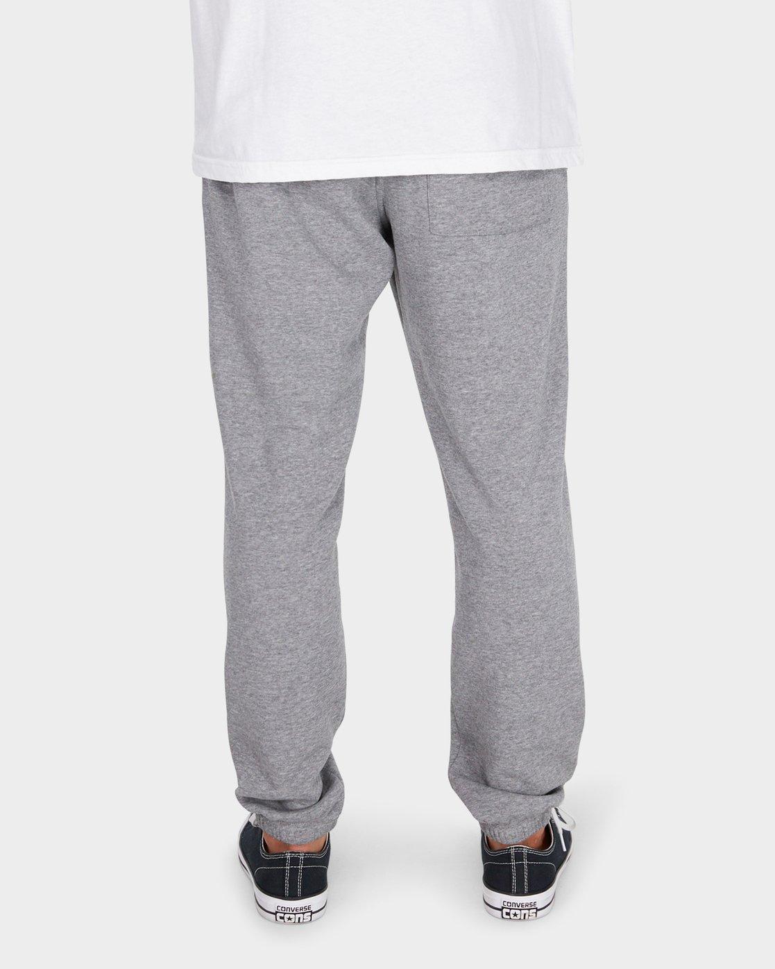 5 Va Guard Fleece Sweatpant Grey R381273 RVCA