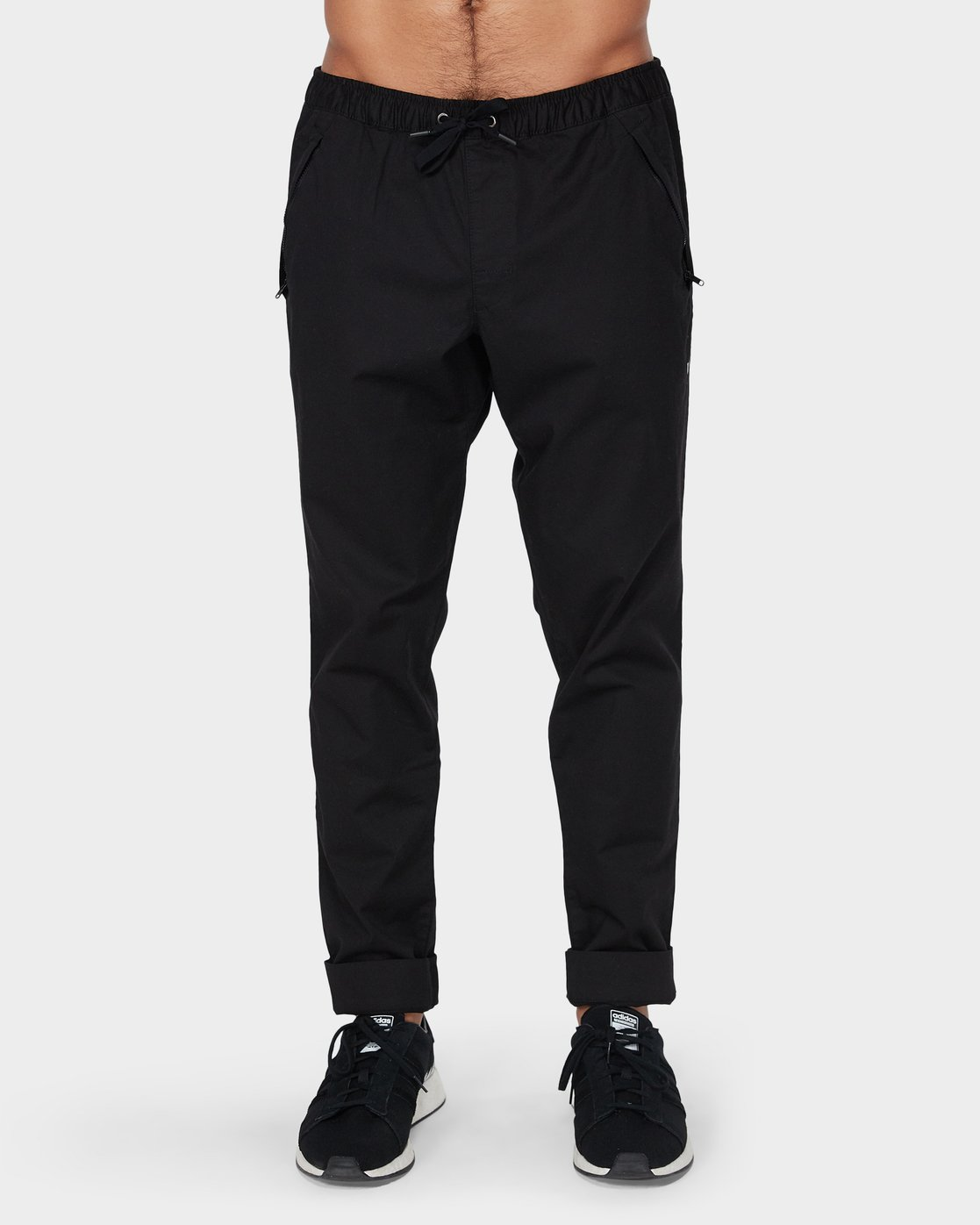 1 Vamok Pants Black R381276 RVCA