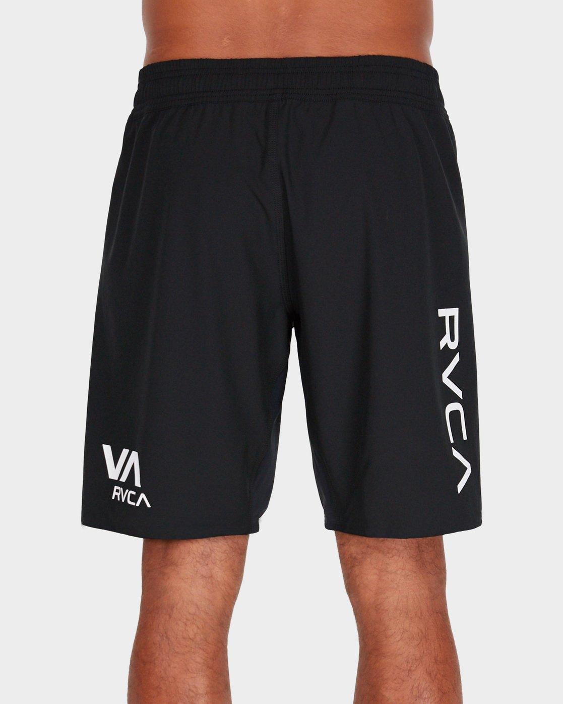 """2 Scrapper 2 19"""" Shorts Black R381318 RVCA"""