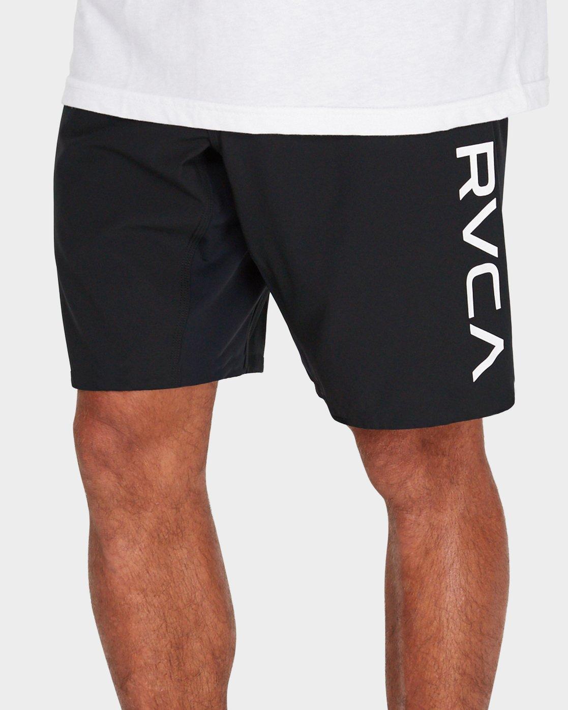 """3 Scrapper 2 19"""" Shorts Black R381318 RVCA"""