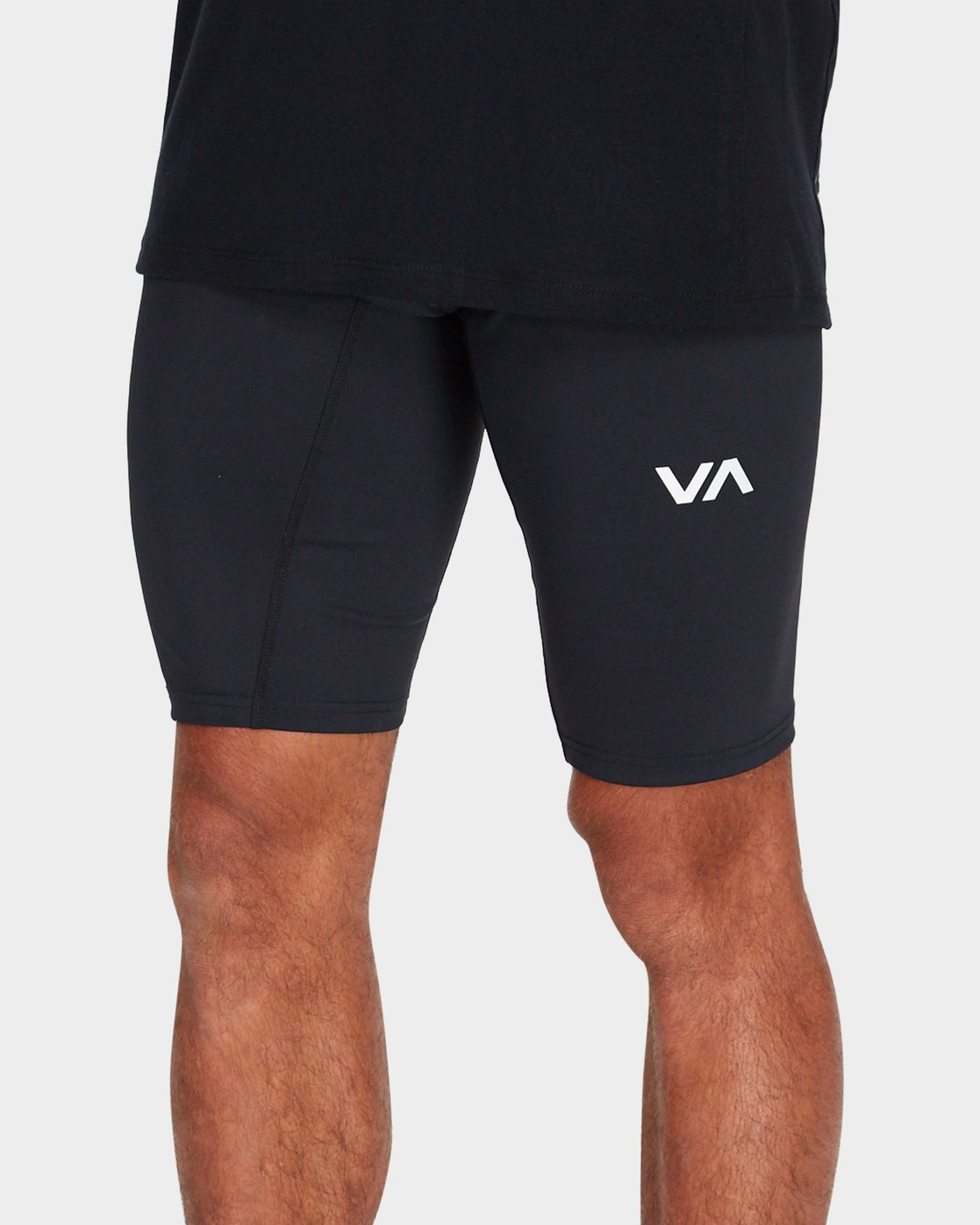 3 VA Compression Shorts Black R381322 RVCA