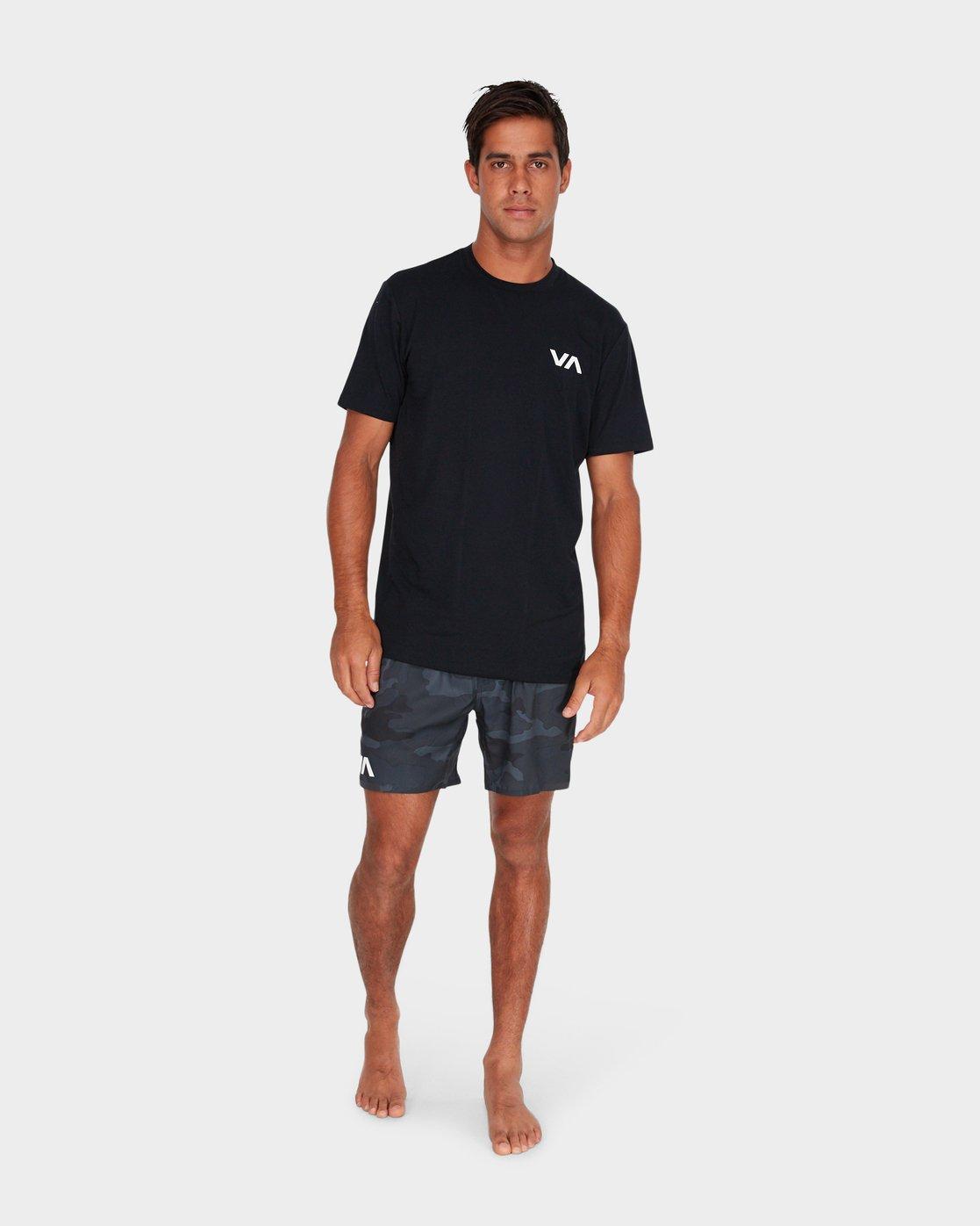 6 VA 16 inch Tech Shorts Camo R381326 RVCA