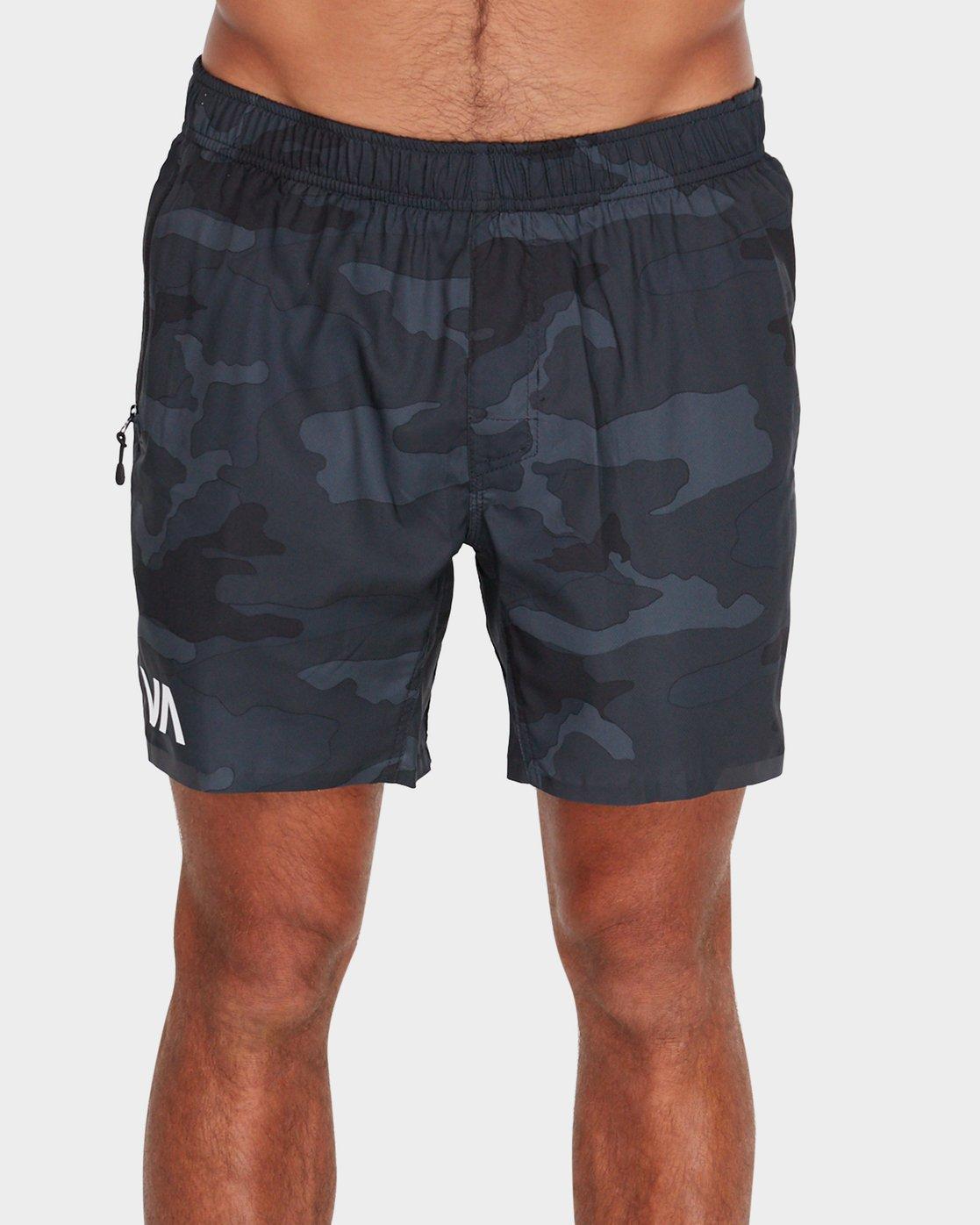 1 VA 16 inch Tech Shorts Camo R381326 RVCA