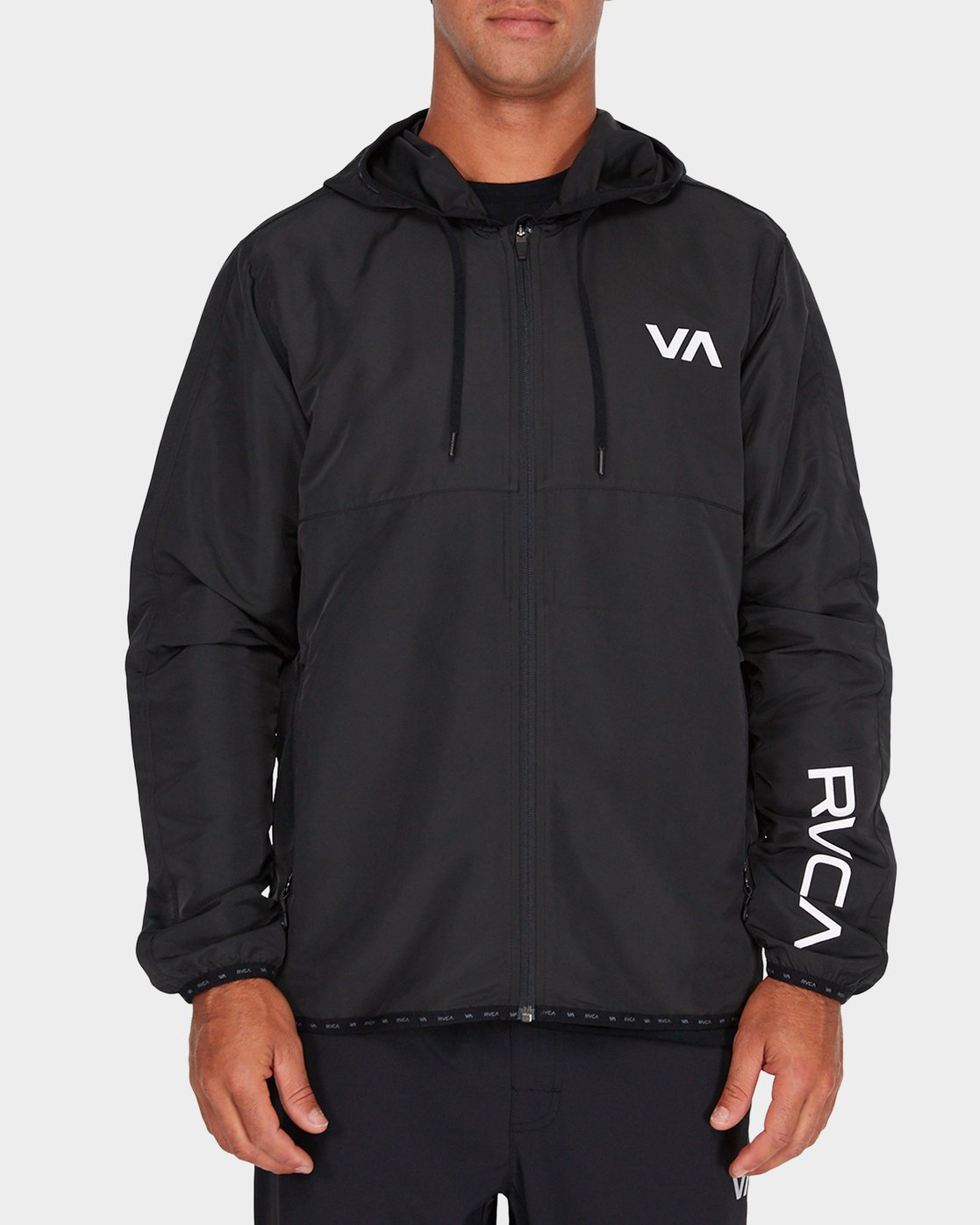0 Axe Packable Jacket Black R381436 RVCA