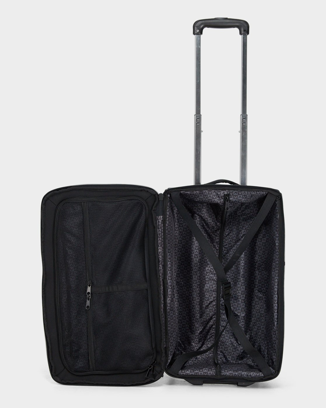 3 Eastern Small Roller Travel Bag Black R381454 RVCA