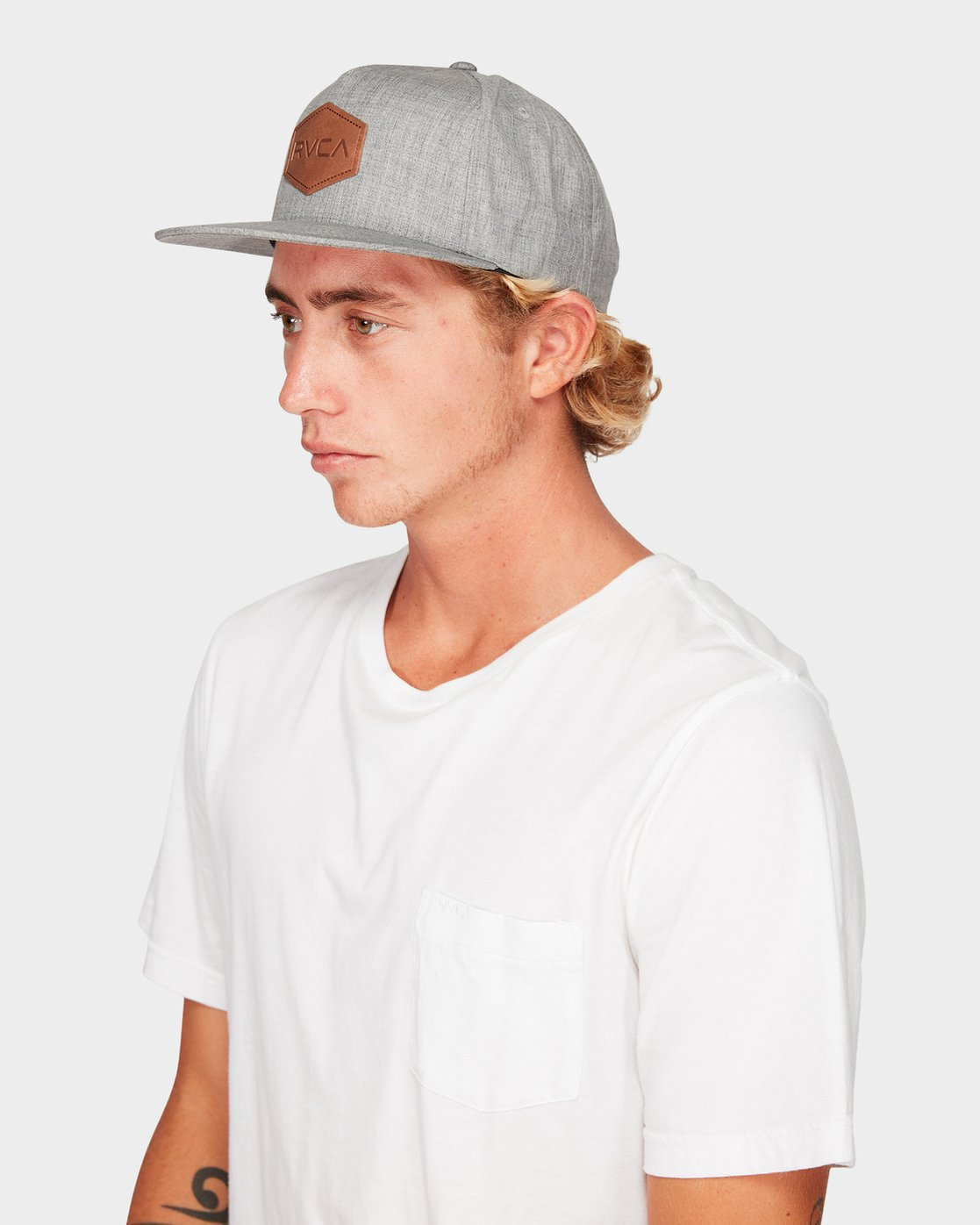 3 Commonwealth Deluxe Cap Grey R381562 RVCA