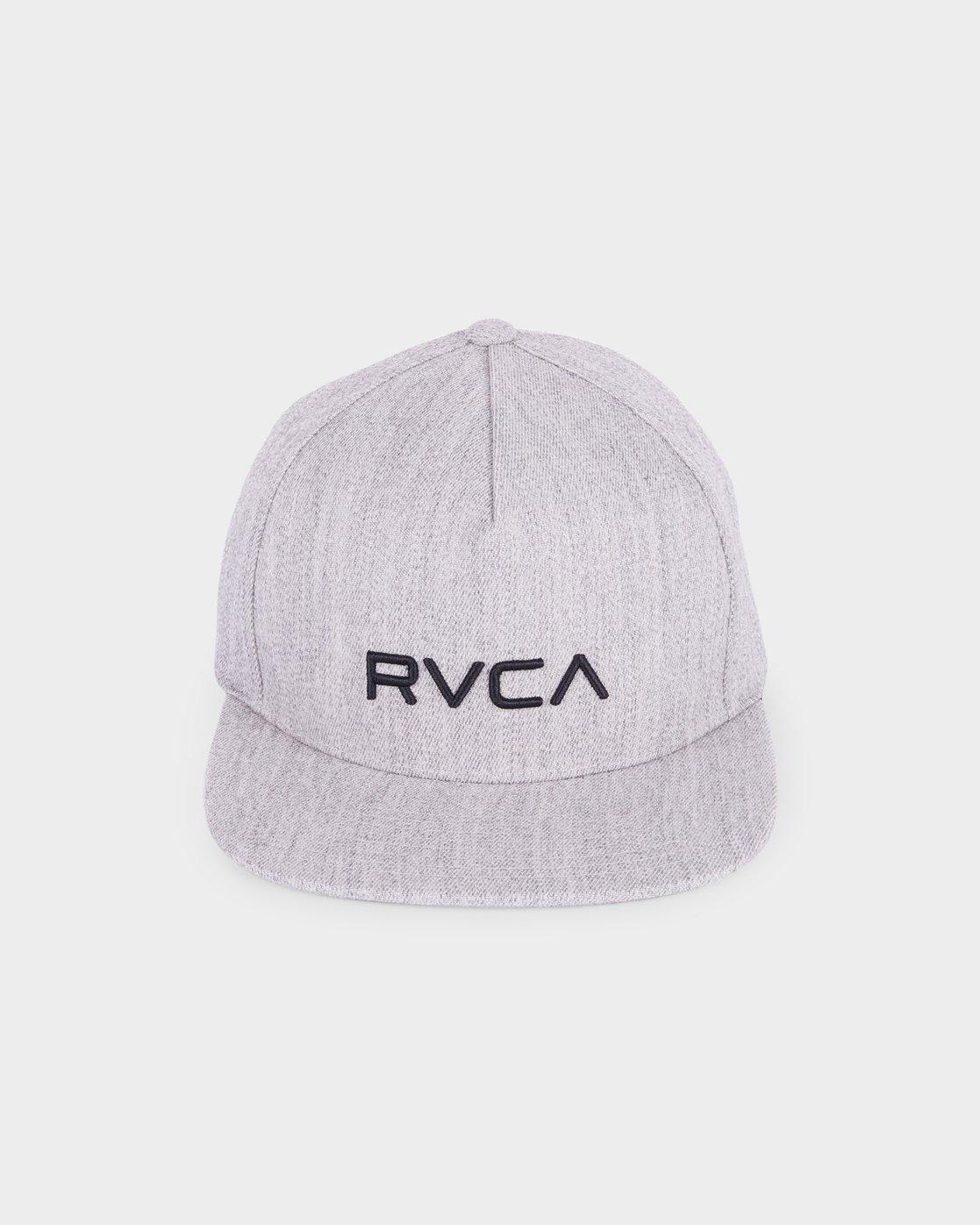1 RVCA Sport Flexfit Cap Grey R381575 RVCA