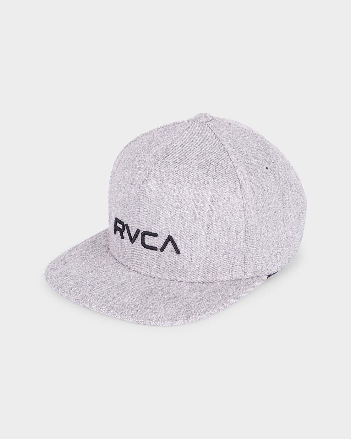 0 RVCA Sport Flexfit Cap Grey R381575 RVCA