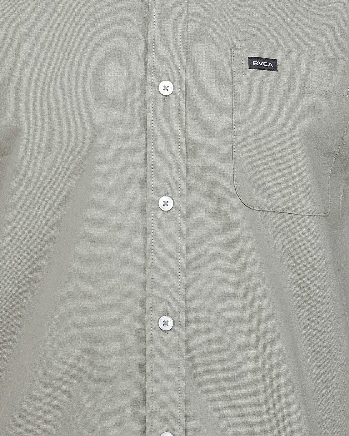 4 Thatll Do Stretch Short Sleeve Shirt Green R382185 RVCA