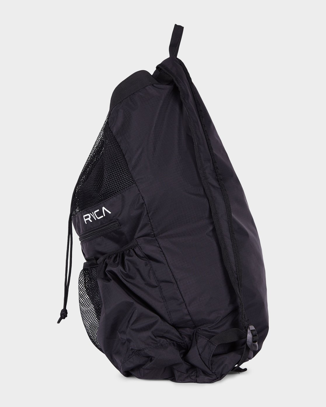 1 Drawcord Backpack Black R382452 RVCA