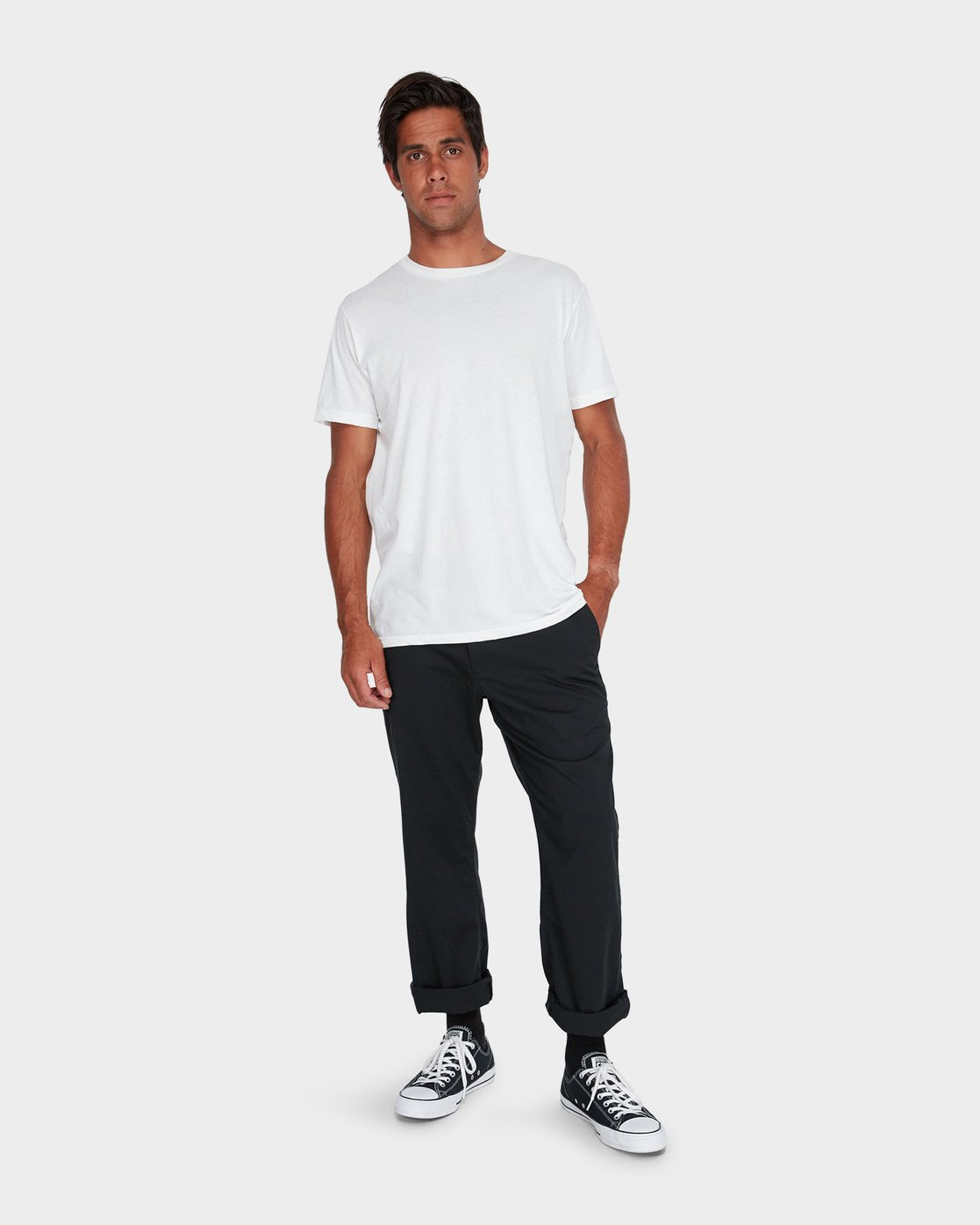 3 Weekend Stretch Pants Black R383273 RVCA