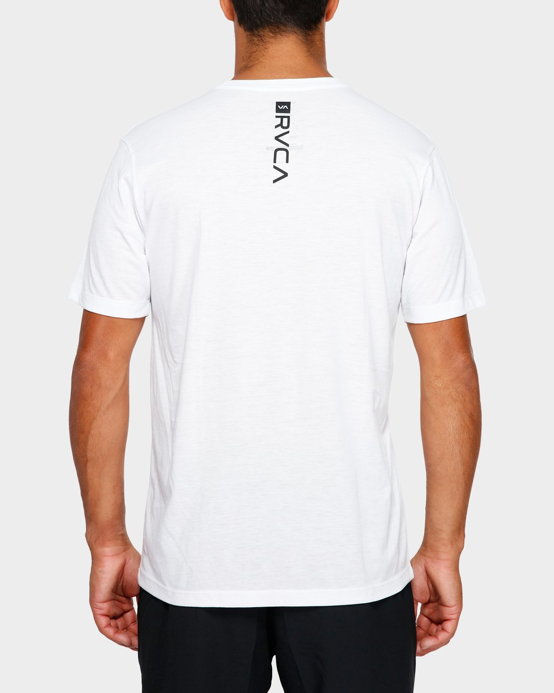 3 Fid Turmoil Short Sleeve White R391044 RVCA