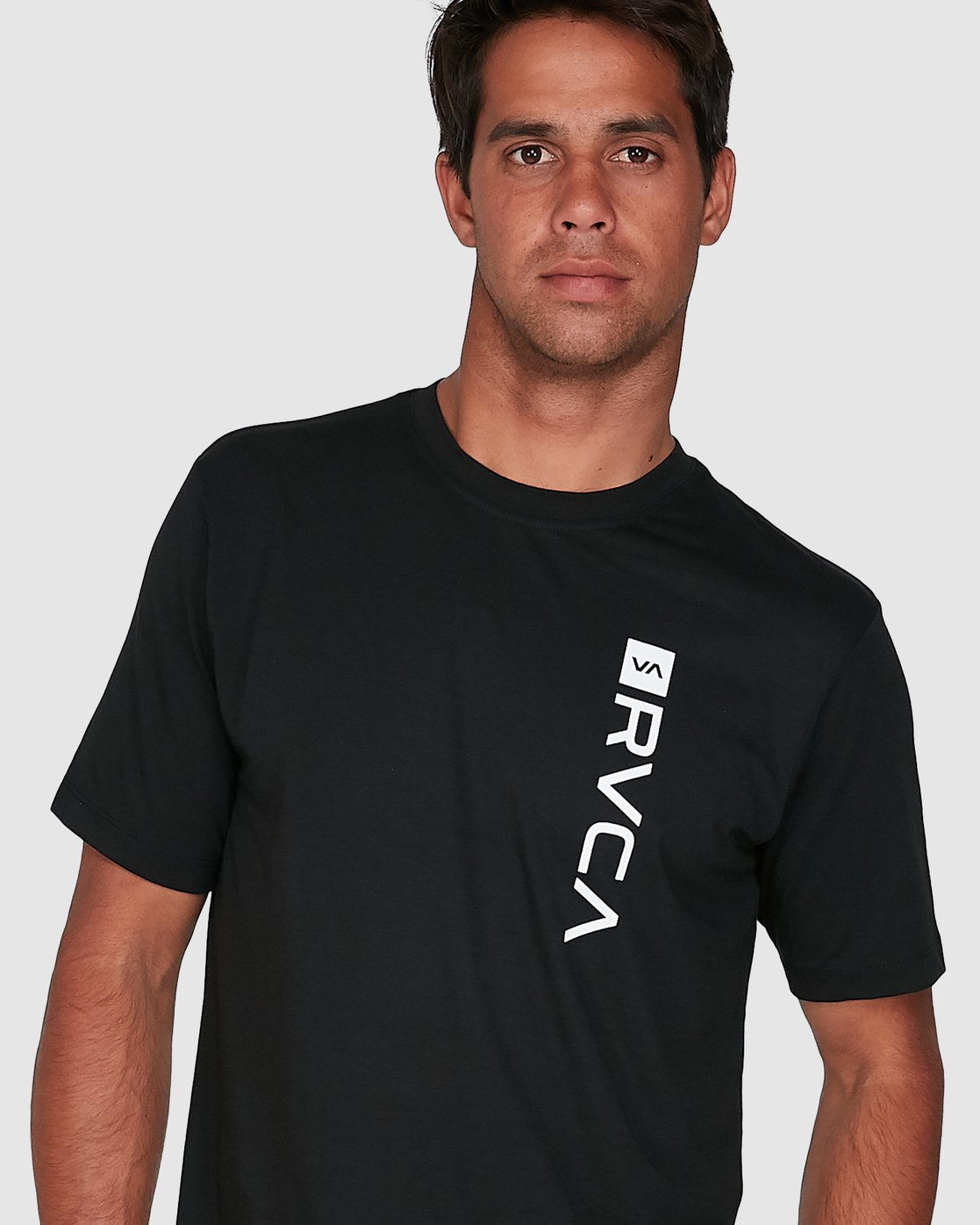 6 RVCA Box Short Sleeve Tee Black R391046 RVCA