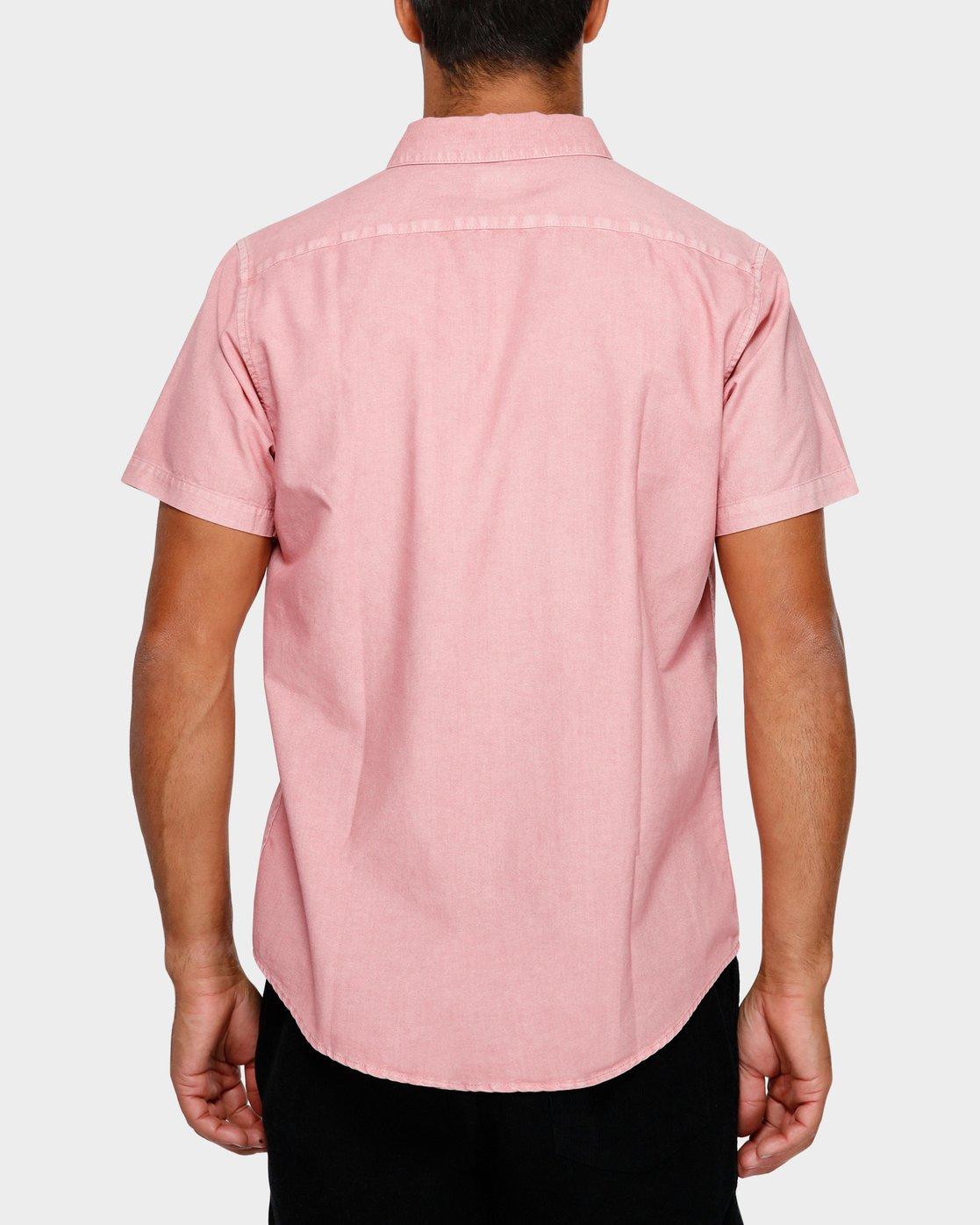 3 Thatll Butter Short Sleeve Pink R391183 RVCA