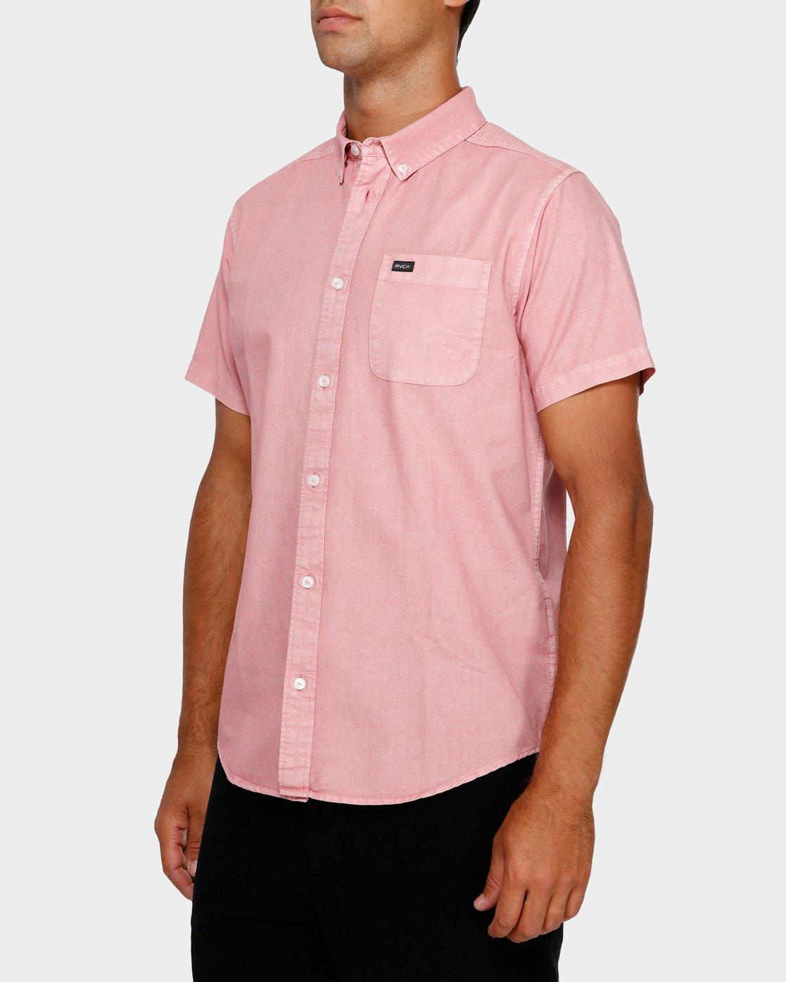 2 Thatll Butter Short Sleeve Pink R391183 RVCA