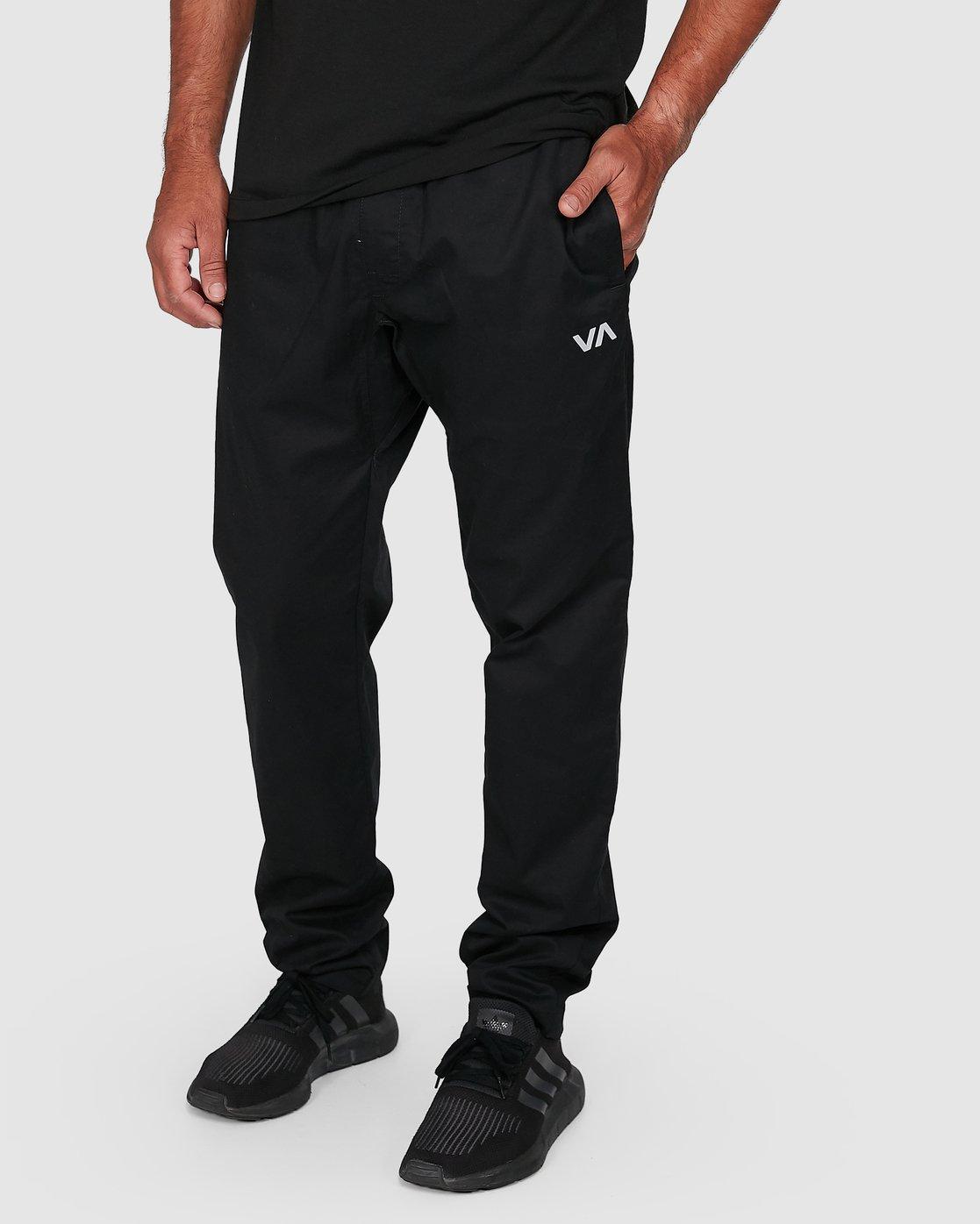 6 Spectrum Iil Pants Black R391274 RVCA