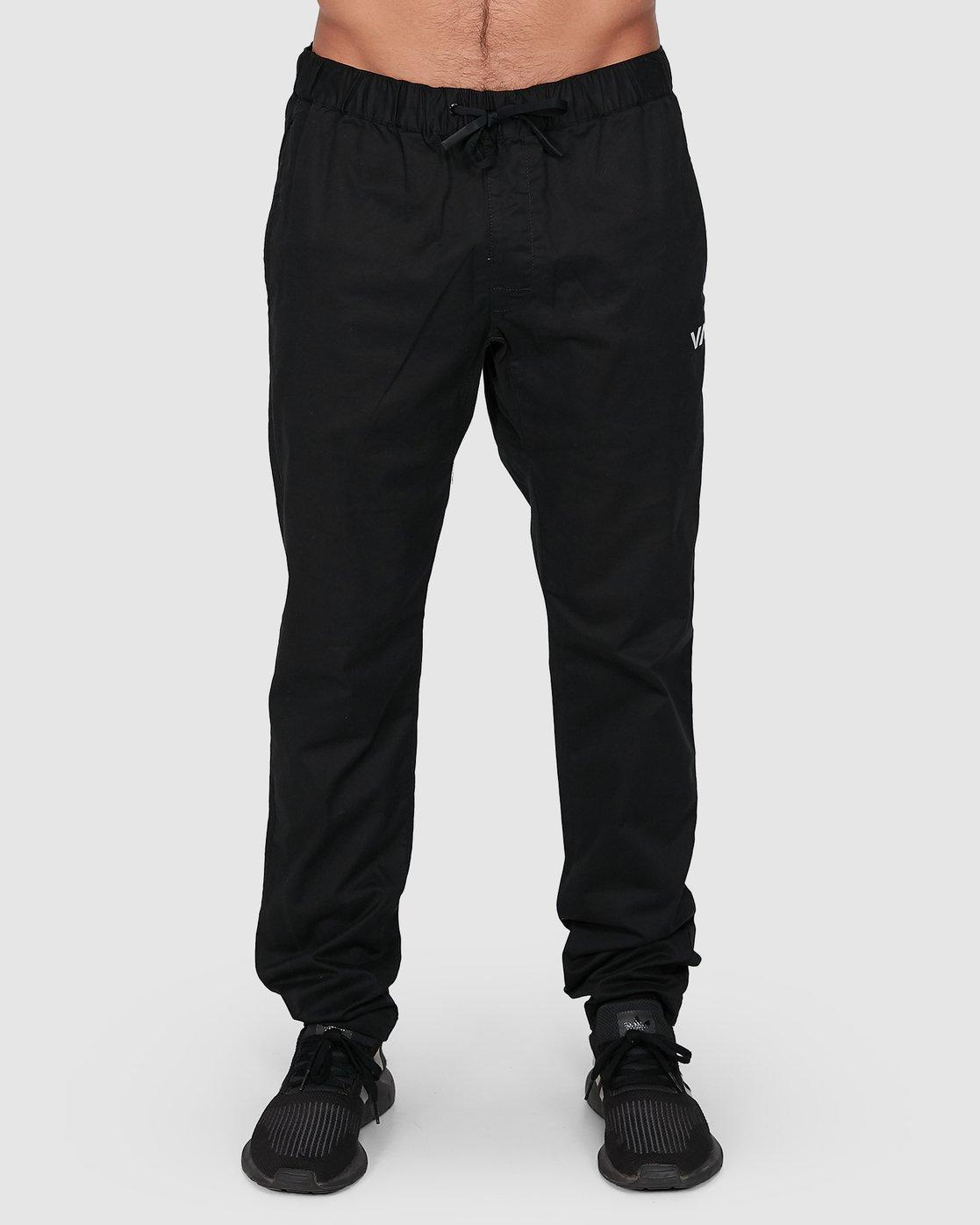 1 Spectrum Iil Pants Black R391274 RVCA