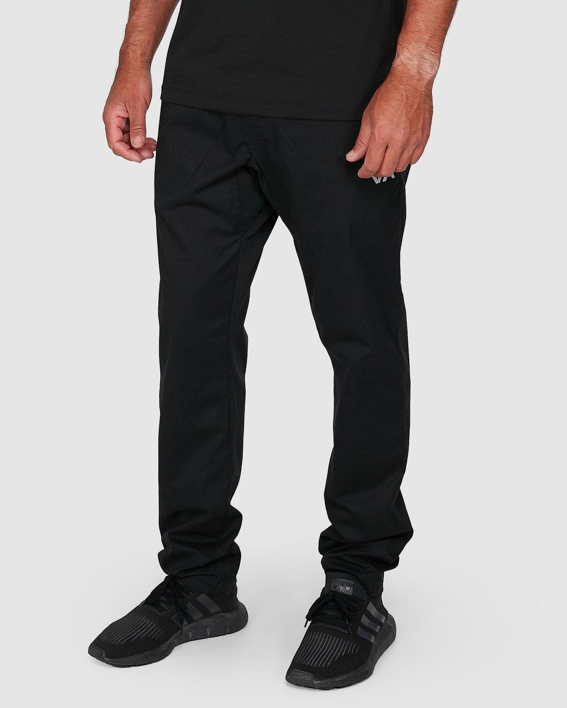 3 Spectrum Iil Pants Black R391274 RVCA