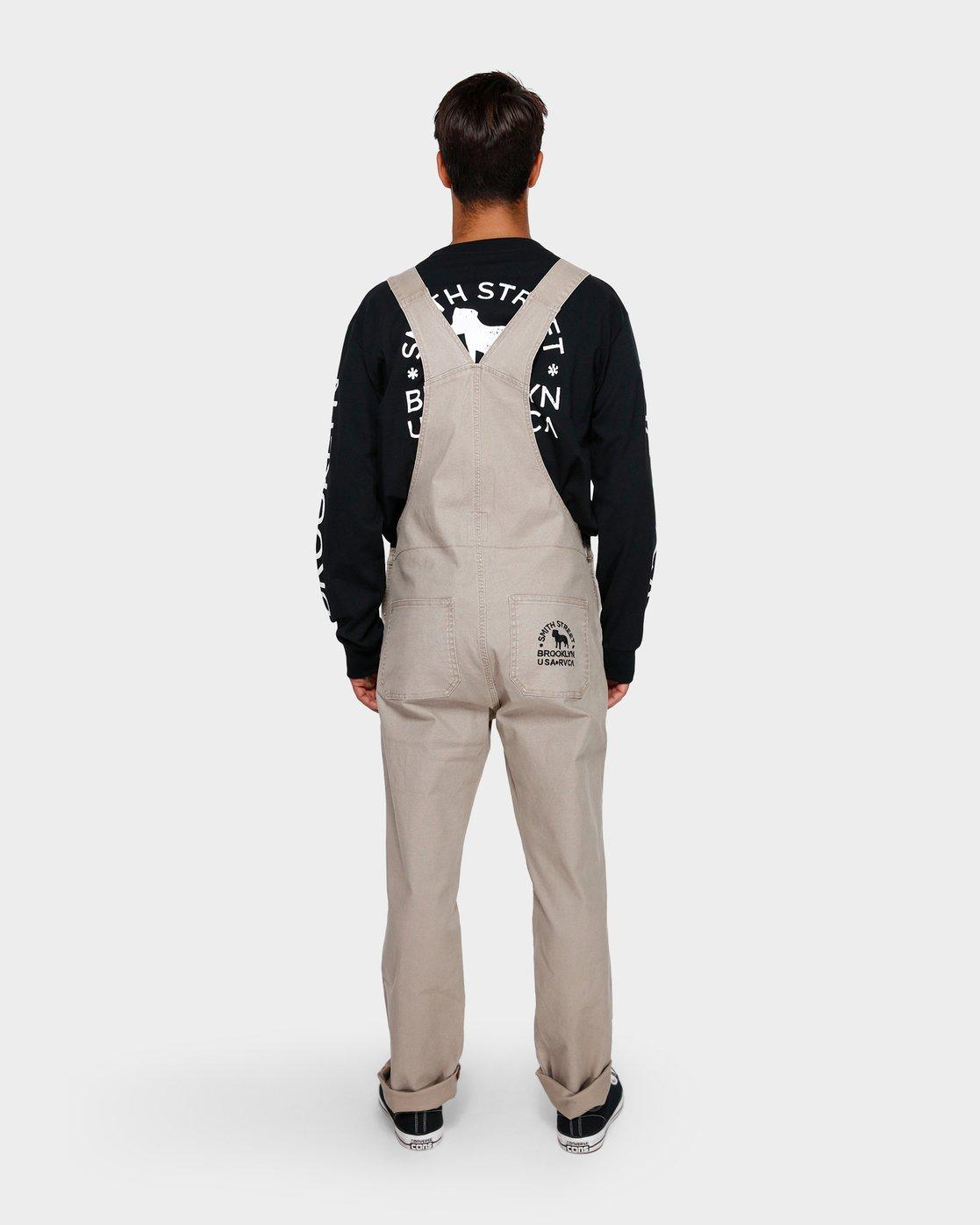 2 Smith Street Overall Pants Green R391279 RVCA