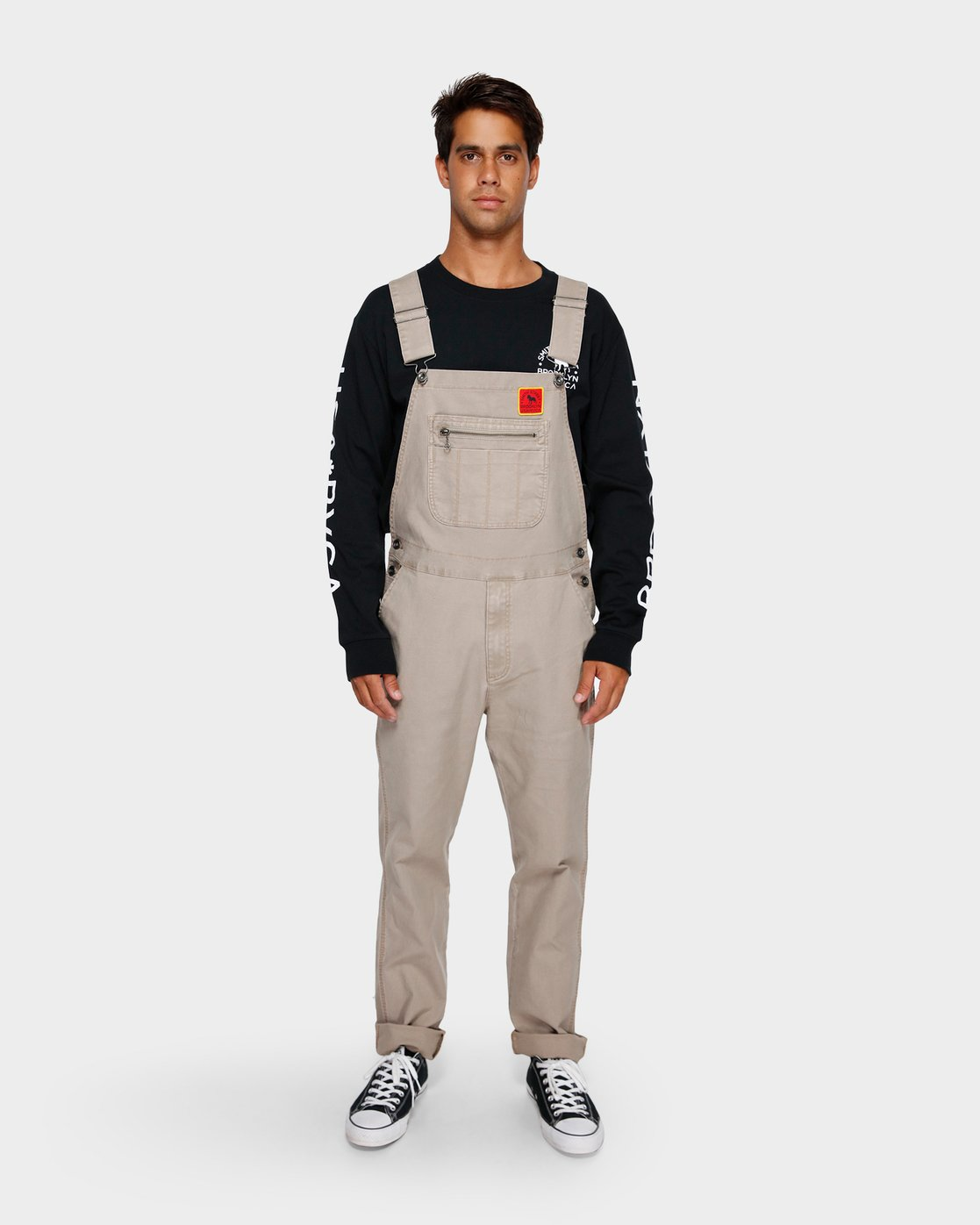 1 Smith Street Overall Pants Green R391279 RVCA