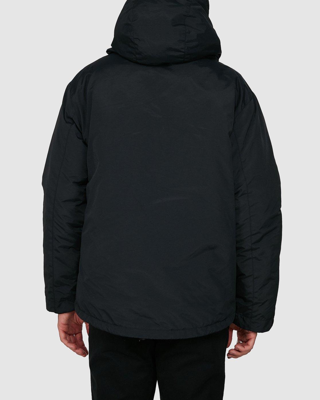 2 Rvca Puffa Jacket Black R391433 RVCA