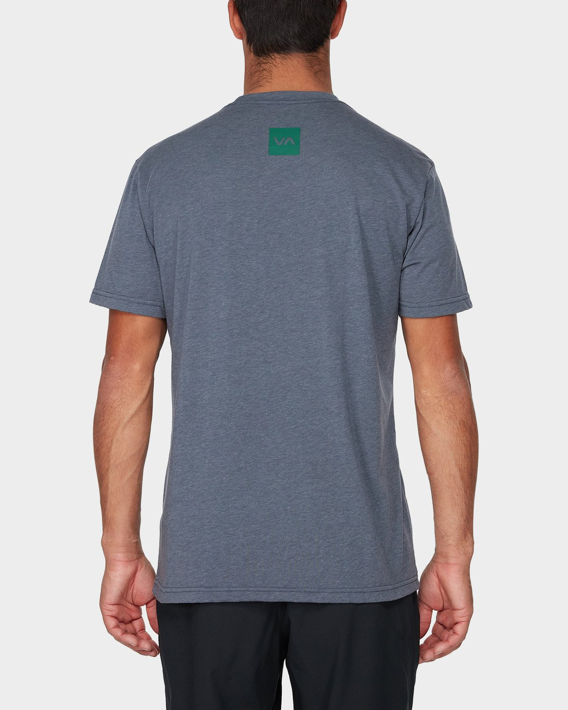 2 RVCA Verted Short Sleeve T-Shirt Grey R393052 RVCA
